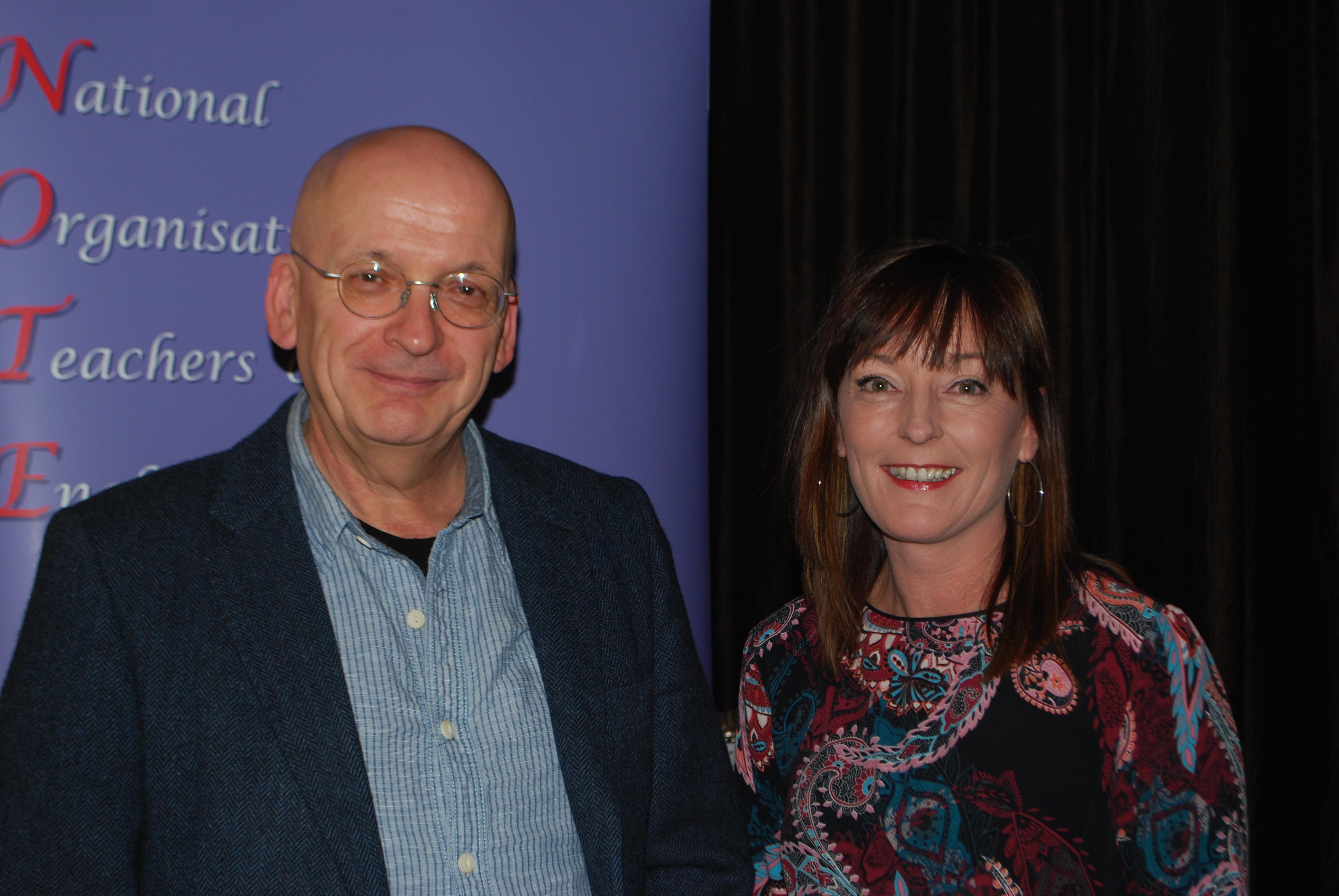 Roddy Doyle and Liz Farrell (1)